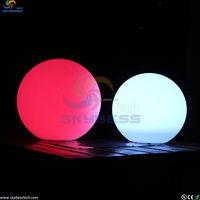 Christmas large outdoor led sphere waterproof ball light ,outdoor hanging light balls