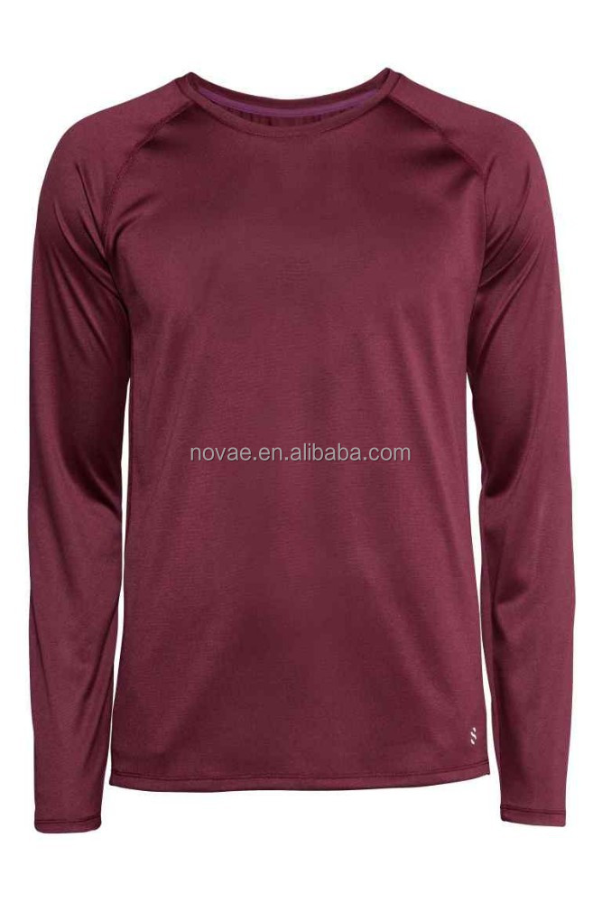 Long sleeve 100 polyester dri fit sport t shirt buy dri for Buy dri fit shirts