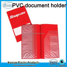 New Travel Plastic Document Holder, PVC car document organizer