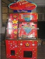 Click me ! prize coin pusher machine / 2 players coin pusher/Amusement game machine (NF-C03)