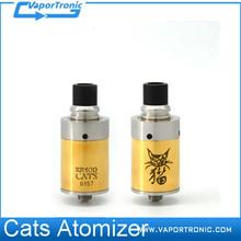 2015 New Arrival RDA atomizer Wholesale Cats Atomizer/Atomic RDA 1:1 Clone
