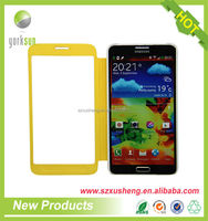 wholesale cell phone PU leather case for Samsung
