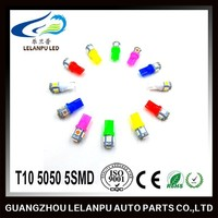 LED accessories T10 5050 5SMD car interior light led car light