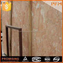 Luxury salon floor decoration crushed brown marble stone