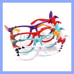 Kids Glasses Plastic Frames with Cute Rabbit Ear Eyewear