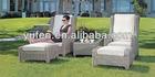 móveis de plástico usados vime mesa e cadeiras de esplanada