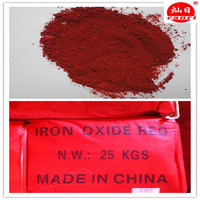 Golden supplier iron oxide red 110 pigment for asphalt
