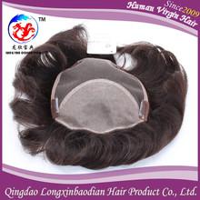 Hot New Products For 2015 Mens Hair Piece/Toupee For Men , Wholesale 3# Color Men Toupee Hair