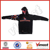 warm sweatshirts with hood/sublimated printing your logo/custom design