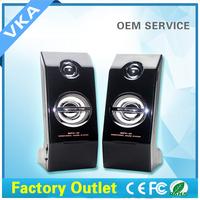 2015 High Quality computer subwoofer speaker ,Hot sale classical 2.0 multimedia woofer speaker for computer laptop WFK-X9