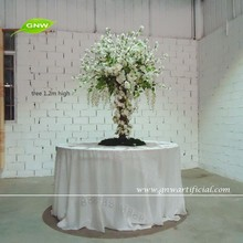 CTR1503-4 GNW 4ft Tall Wisteria and Cherry Blossom Artificial Indoor Trees Wedding Centerpieces for Tables