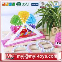 Business gift MYJ 5MM diy bead types of hollow blocks