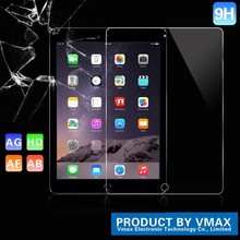 Top Quality! Ultra Thin Clear 0.33mm 9H Hardness 2.5D Premium Tempered Glass Screen Protector for iPad air 2