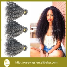 Best Selling Brazilian Virgin Hair Kinky Curly 3PCS 100% 6A Unprocessed Human Virgin Hair Weft Shipping Free for black women