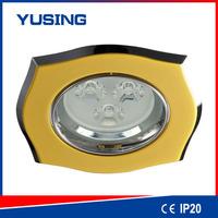led light LED gu10 downlight cover zinc ceiling light flush mount bronze