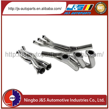 Gain more performance due to more air flow motorcycle exhaust header