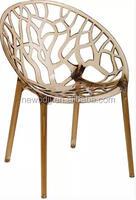 Modern Home Furniture Clear Plastic Chair