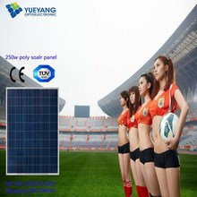 Hot sell Mono and Poly 250W Panel Solar with ISO,TUV,UL,CE&CSA