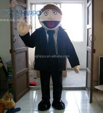 Business man Character Mascot Costume