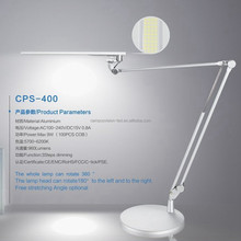 2015 new product three level dimming the whole lamp can rotate free stretching angle optional office business table lamp