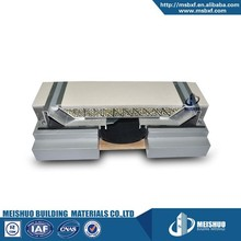 Silicon sealant system metal floor seismic expansion joint cover