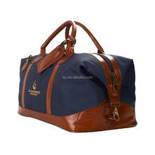 Vintage Military Canvas Leather men travel bags Tote luggage duffle bag weekend ,Customized design vintage Bag