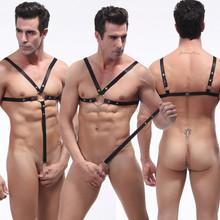 Sexy Men's Underwear Harness Overalls Healthcare Corset Leotard 8 Colors