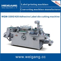 WQM-320G die cutting machinery for paper