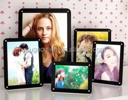 Noble Acrylic Photo Frame, transparent photo frame -- Black