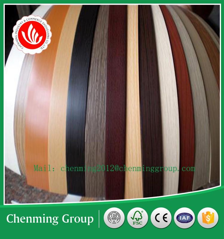 Haute qualité PVC bande de bord/PVC bord de baguage