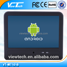 10.1'' taxi video advertising player with Bluetooth ,wifi ,android,E-mark