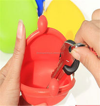 Cute Silicone Pouch,Cheap Silicone Key Pouch Made in China