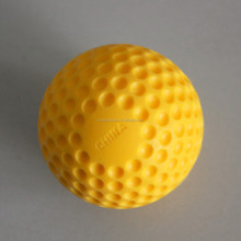 9inch Extra-Hard Yellow Dimpled Baseballs