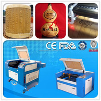 KL-460 co2 laser tube for wooden board/rubber cutting and engraving