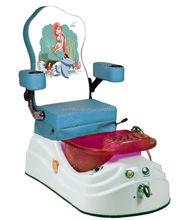 Diferentes colores con pedicura silla para niños para Spa de uñas