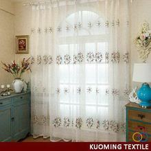 Excellent quality most popular middle east embroidery curtain