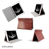 Retro crocodile print for ipad leather case