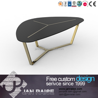 Chinese style good quality metal coffee table produced in Guangdong