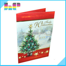 Quality colorful paper business card/ greeting card printing factory in Guangdong