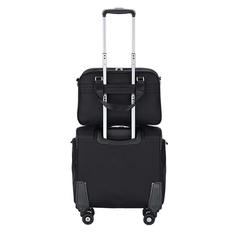 Petite taille polo cabine d'embarquement sacs et boîte cadres bagages valise ensemble