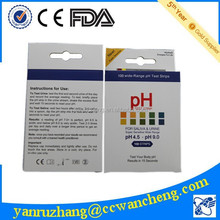 Wancheng PH cassette 4.5-9.0 urine reagent paper high quality