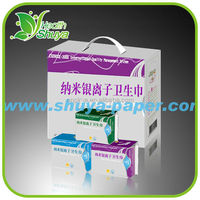 Women Cotton Bamboo Fibre Menstrual Anion Sanitary Pad