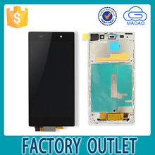 with digitizer complete mobile phone lcd for sony xperia z1 AAA quality,factory price lcd for sony xperia z1