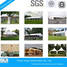 Hot selling marquee tents/party tent curtains decoration