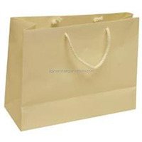 factory price machine made company names of paper bags with handles