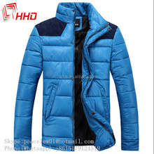 Fashion Design PU Colored Men's Washed Leather Garment