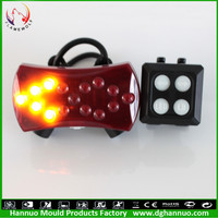 Remote wireless control high quality special design magnet switch mountain bike bicycle flashlight led bicycle light