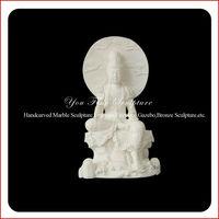 High polished carved stone buddha