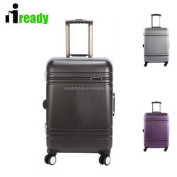 High grade quality hard luggage , China cheaper luggage with four 360-degree wheels