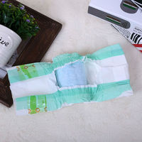 Blue core, disposable,printed baby diapers , adult diaper